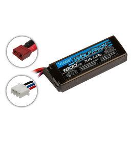 Reedy 7.4V 1600mAh 2S 30C Reedy Wolfpack LiPo Battery: T-plug