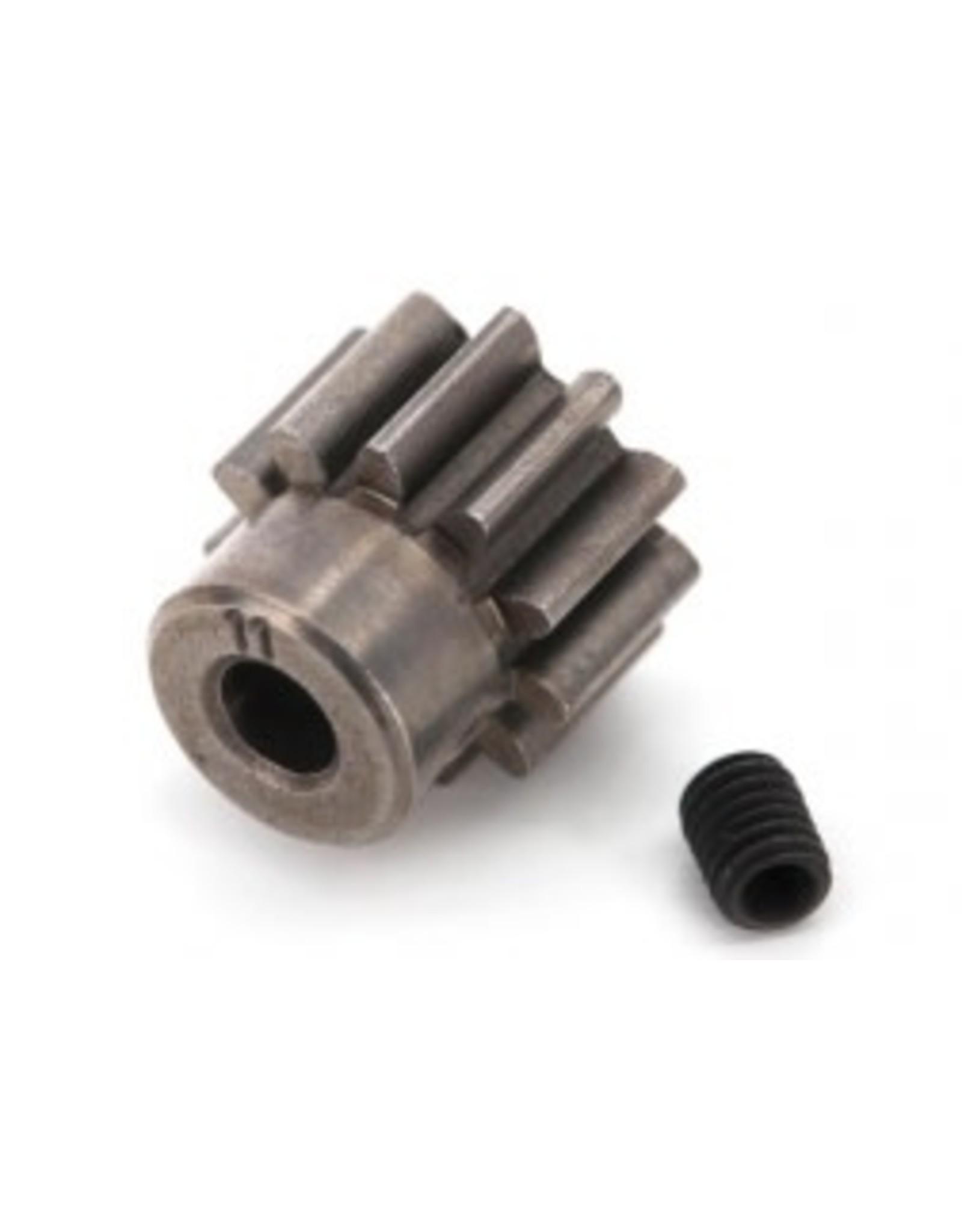 Traxxas [Gear, 11-T pinion (32-p) (steel)/ set screw] Gear, 11-T pinion (32-p) (steel)/ set screw