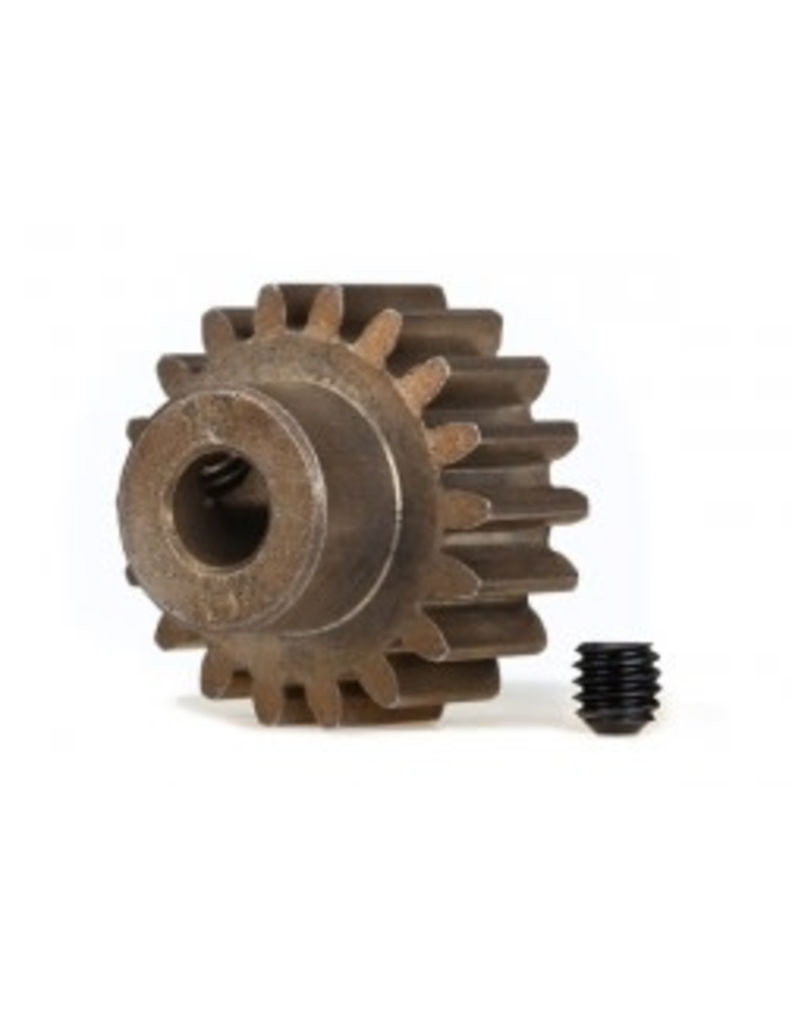 Traxxas [Gear, 18-T pinion (1.0 metric pitch) (fits 5mm shaft)/ set screw] Gear, 18-T pinion (1.0 metric pitch) (fits 5mm shaft)/ set screw
