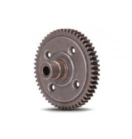 Traxxas [Spur gear, steel, 54-tooth (0.8 metric pitch, compatible with 32-pitch) (requires #6780 center differential)] Spur gear, steel, 54-tooth (0.8 metric pitch, compatible with 32-pitch) (requires #6780 center differential)