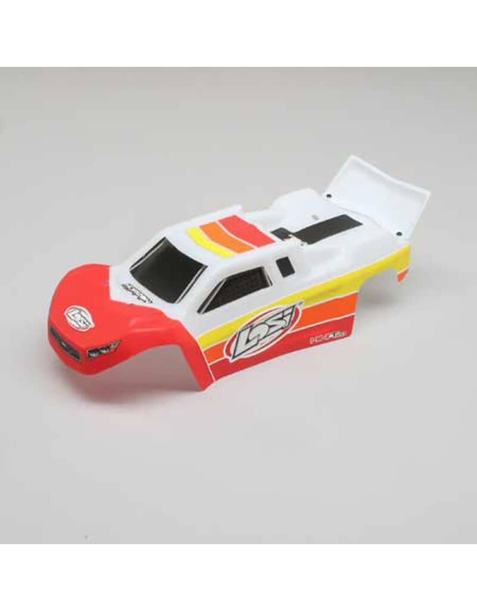 Team Losi Racing Body, Red: Mini-T 2.0 BL