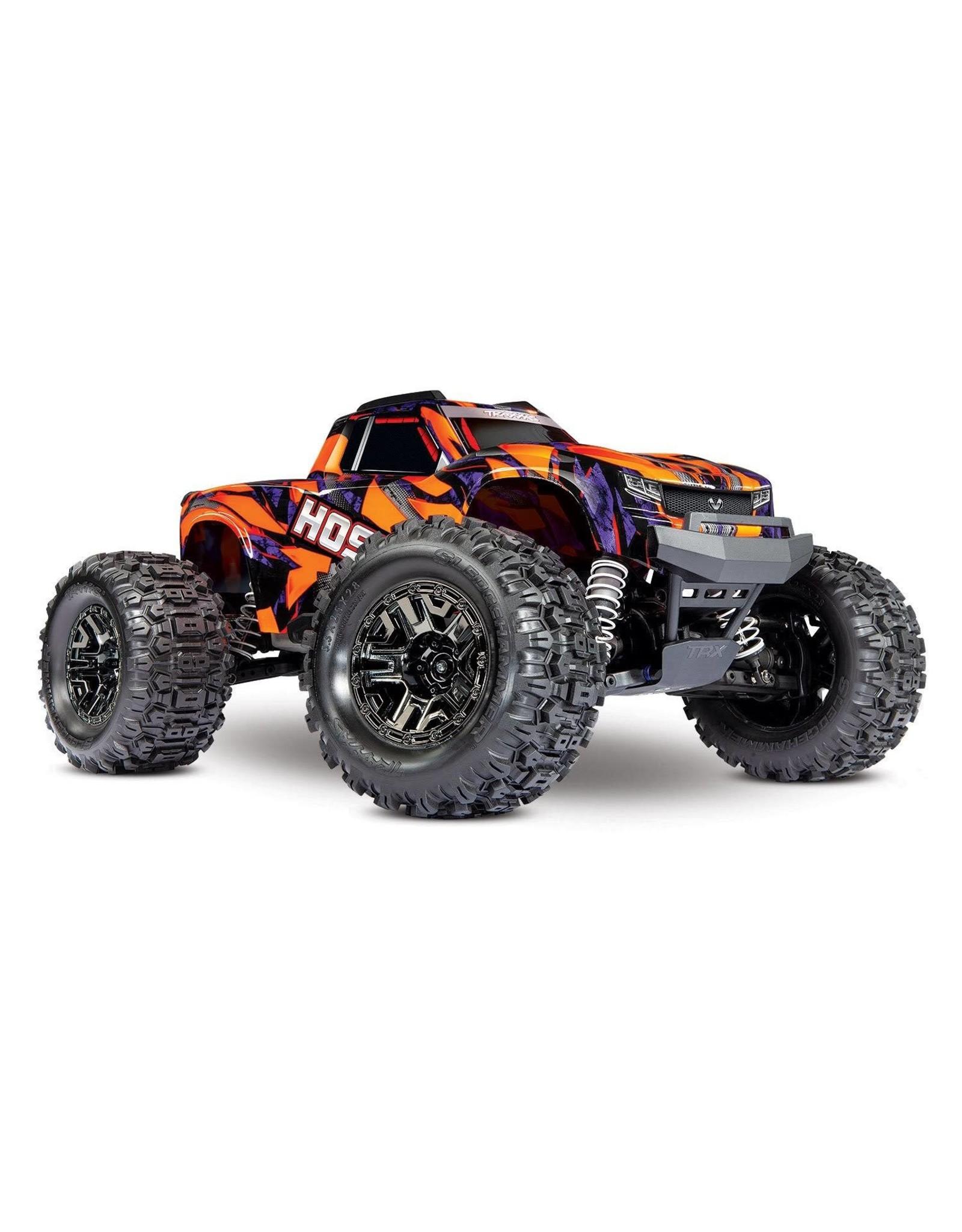 Traxxas Hoss 4X4 VXL: 1/10 Scale 4X4 Monster Truck