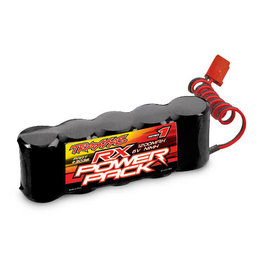 Traxxas [Battery, RX Power Pack (5-cell flat style, NiMH, 1200mAh)] Battery, RX Power Pack (5-cell flat style, NiMH, 1200mAh)