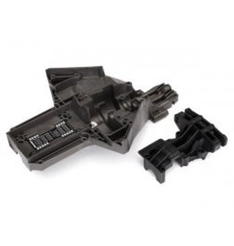 Traxxas [Bulkhead, rear (upper & lower), center differential (replacing #7727 & #7728 requires #5107A ball bearings (2))] Bulkhead, rear (upper & lower), center differential (replacing #7727 & #7728 requires #5107A ball bearings (2))
