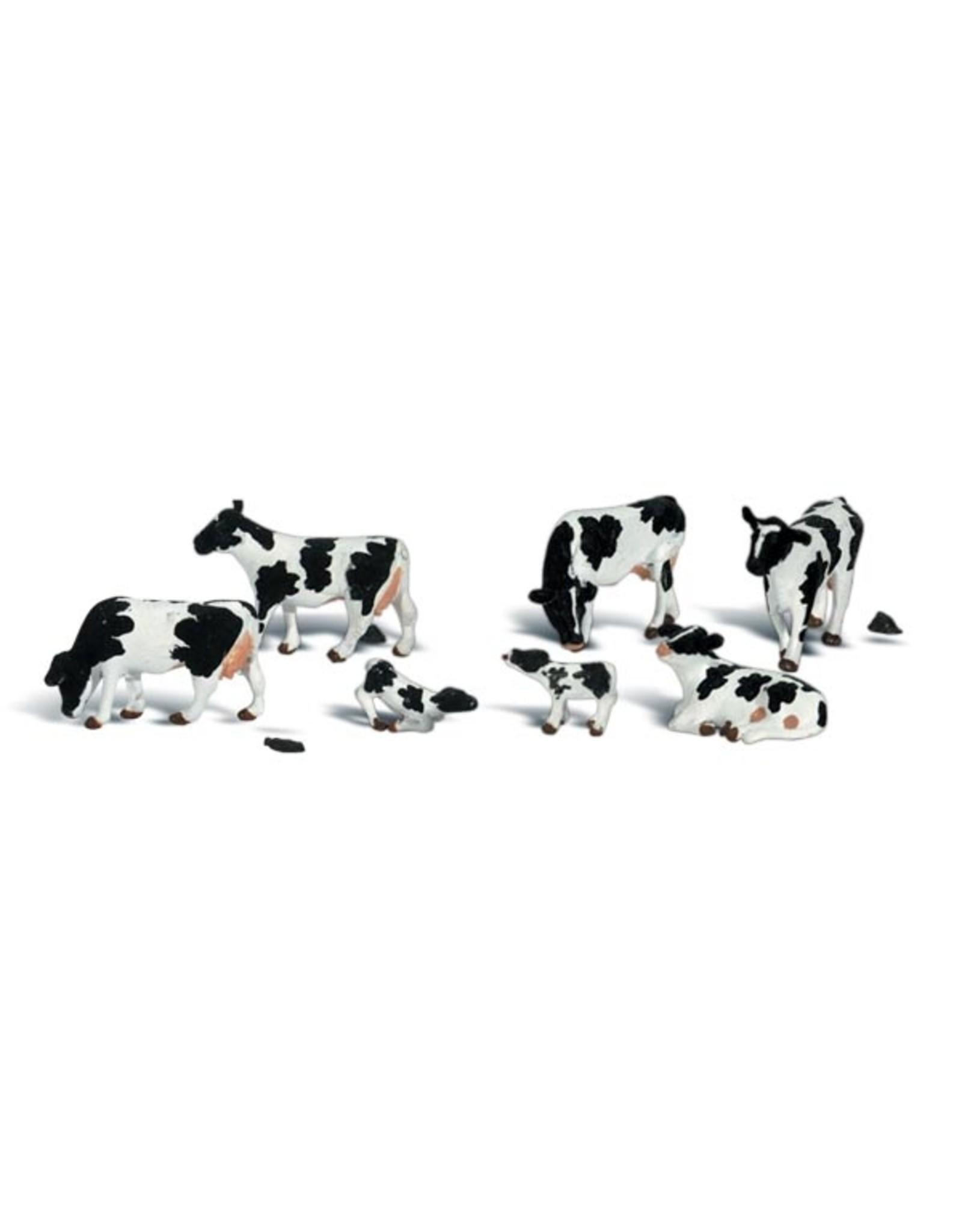 Woodland Scenics Holstein Cows HO 1863