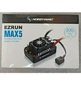 Hobbywing EZRUN MAX 5 ESC (3-8S)
