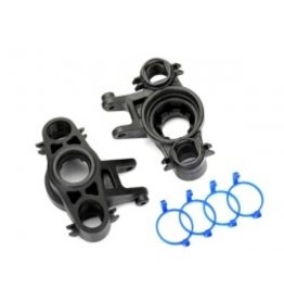 Traxxas [Axle carriers, left & right (1 each) (use with 8x16mm & 17x26mm ball bearings)/ dust boot retainers (4)] Axle carriers, left & right (1 each) (use with 8x16mm & 17x26mm ball bearings)/ dust boot retainers (4)