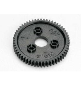 Traxxas [Spur gear, 56-tooth (0.8 metric pitch, compatible with 32-pitch)] Spur gear, 56-tooth (0.8 metric pitch, compatible with 32-pitch)