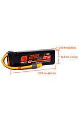 'Spektrum 11.1V 2200mAh 3S 30C Smart LiPo G2: IC3