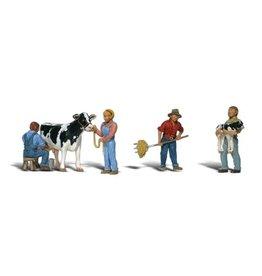 Woodland Scenics Dairy Farmers HO 1887