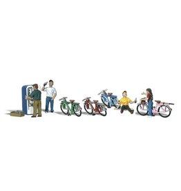 Woodland Scenics Bicycle Buddies HO 1904