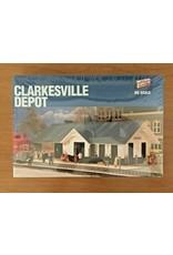 Clarkesville Depot - Kit Walthers Cornerstone #3063