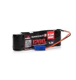 Dynamite Speedpack2 7.2V 1200mAh 6C NiMH, Long, MINI-S