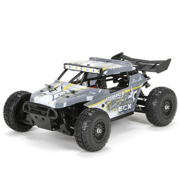 ECX 1/18 Roost 4WD Desert Buggy Brushed RTR, Grey/Yellow