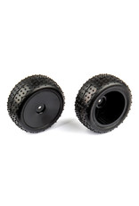 Team Associated Front Narrow Mini Pin Tires mounted: 14B 14T