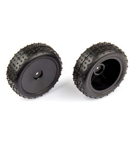 Team Associated Rear Wide Mini Pin Mounted Tires: 14B 14T