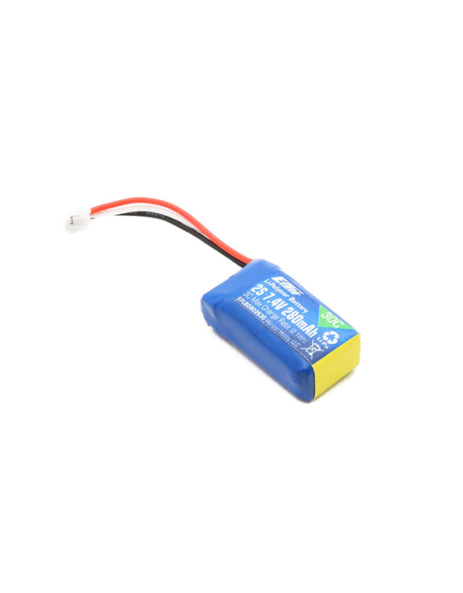 Eflite 7.4V 280mAh 2S 30C LiPo Battery: PH