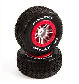 Duratrax SpeedTreads Konekt SC Front Rear Mounted (2): Slash/Rustler, ECX 4x4