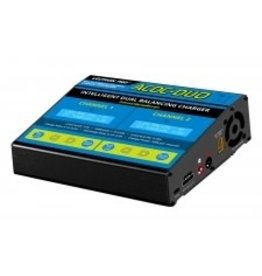 Common Sense RC ACDC-DUO - Two-Port Multi-Chemistry Balancing Charger (LiPo/LiFe/LiHV/NiMH)