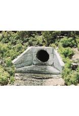 Woodland Scenics Concrete Culvert - HO Scale