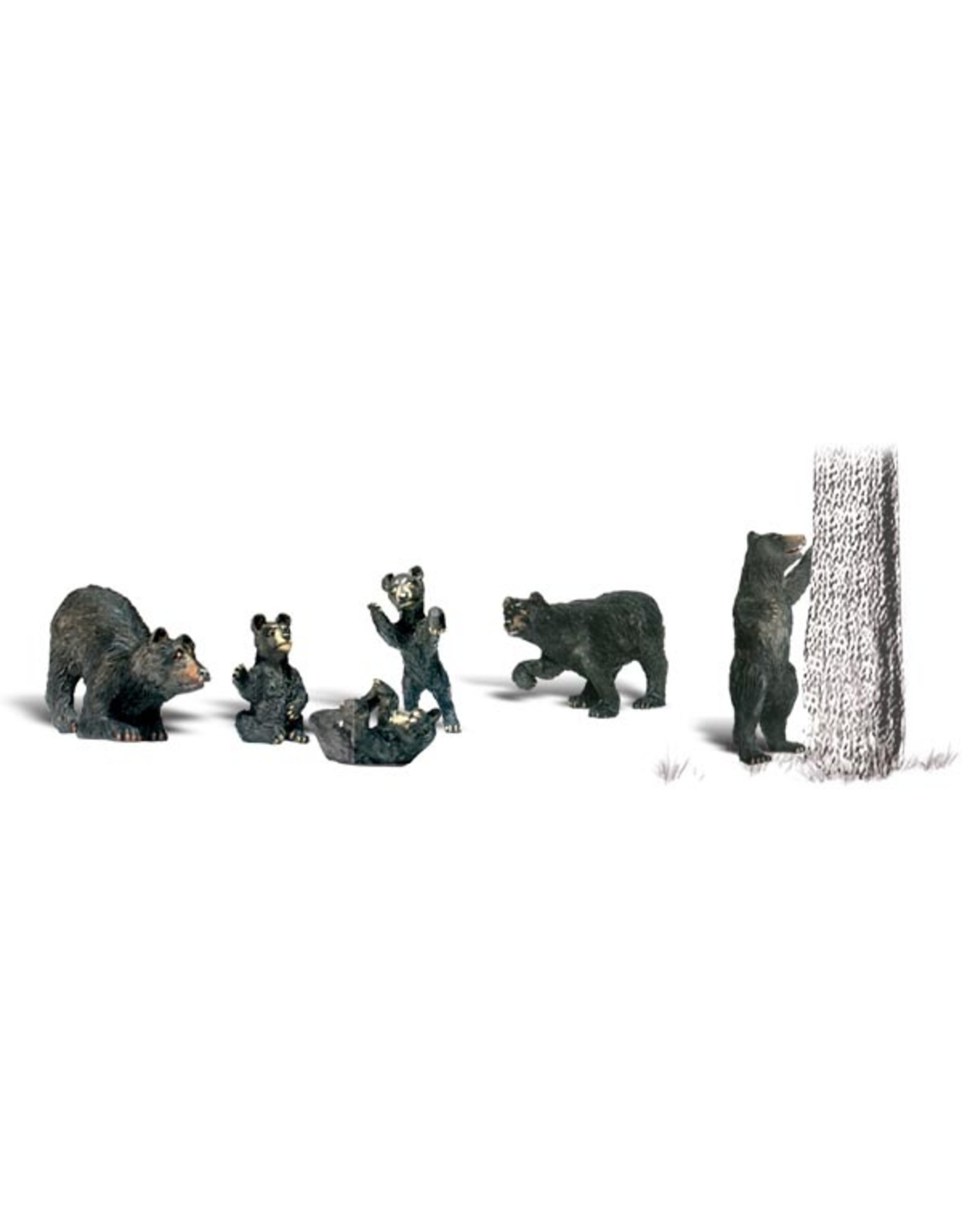 Woodland Scenics Black Bears HO