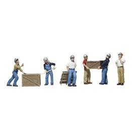 Woodland Scenics Dock Workers HO 1823