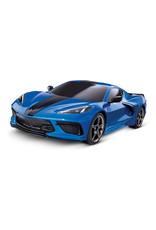 Traxxas 4 Tec 3.0 C8  Corvette-Blue 93054-4