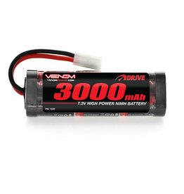 Venom 7.2V 3000mAh 6-Cell DRIVE NiMH Starter Battery: Tamiya Connector