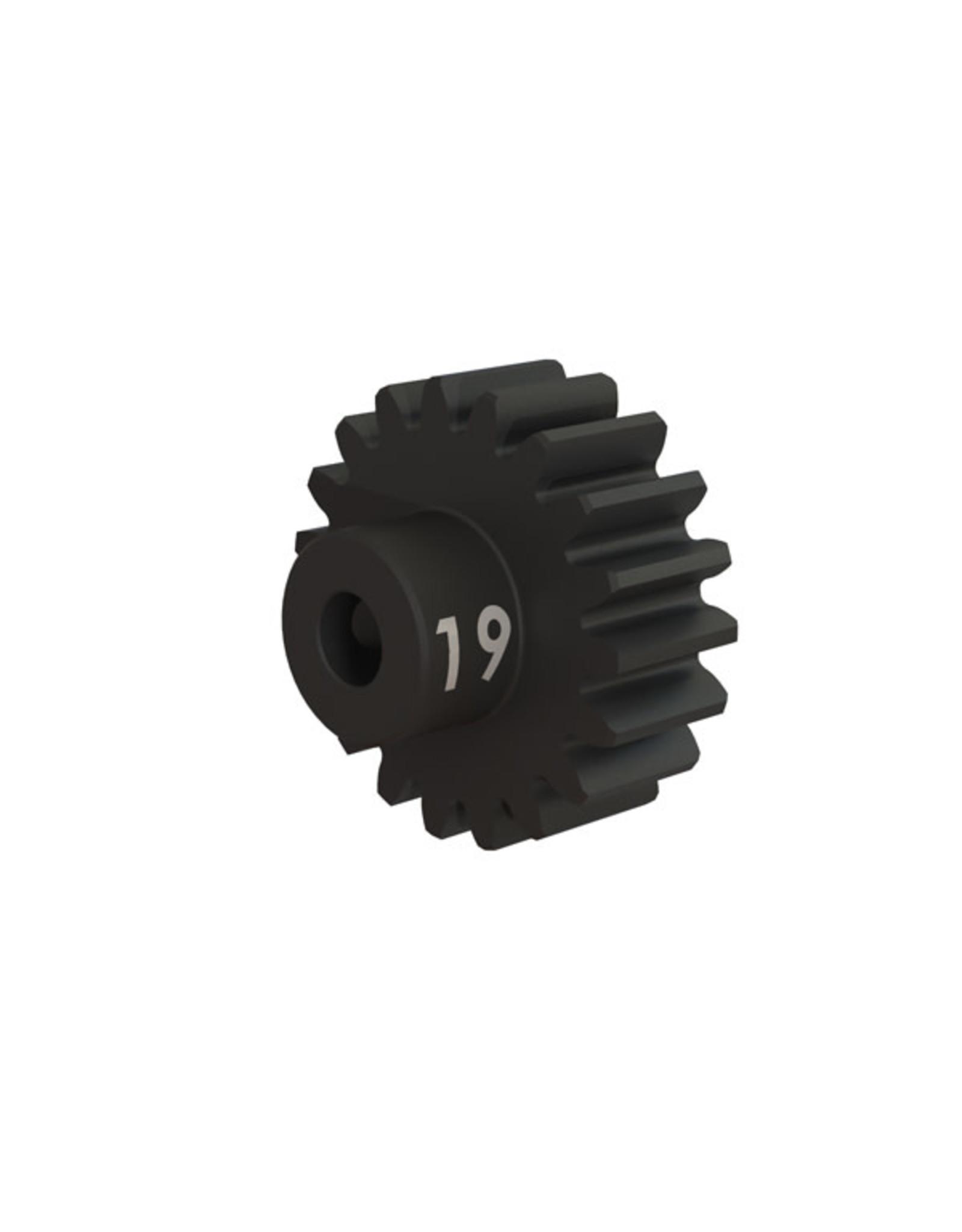 Traxxas [Gear, 19-T pinion (32-p), heavy duty (machined, hardened steel)/ set screw] Gear, 19-T pinion (32-p), heavy duty (machined, hardened steel)/ set screw