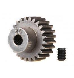 Traxxas [Gear, 24-T pinion (48-pitch) / set screw] Gear, 24-T pinion (48-pitch) / set screw