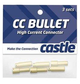 Castle High Current Connector: 4mm Bullet Set (3)