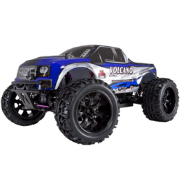 Red Cat Copy of Volcano Epx 1/10 4wd electric monster truck Blue