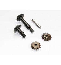 Traxxas [Gear set, center differential (output gears (2)/ spider gears (2)/ spider gear shaft)] Gear set, center differential (output gears (2)/ spider gears (2)/ spider gear shaft)