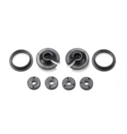 Traxxas [Spring retainers, upper & lower (2)/ piston head set (2-hole (2)/ 3-hole (2))] Spring retainers, upper & lower (2)/ piston head set (2-hole (2)/ 3-hole (2))