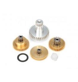 Traxxas [Gear set, metal (for 2085 & 2085X servos)] Gear set, metal (for 2085 & 2085X servos)