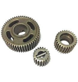 Redcat Racing Steel transmission gear set (20T, 28T, 53T) and pin (1set)
