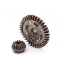 Traxxas [Ring gear, differential/ pinion gear, differential (rear)] Ring gear, differential/ pinion gear, differential (rear)