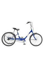 SUN BICYCLES TRIKE SUN ADULT BLU 24 ALY WHL*W/BASKET*