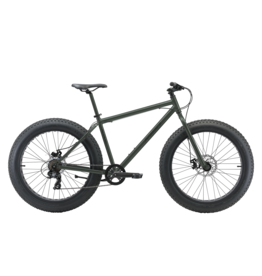 "Reid Bikes ALPHA 26x4.0 FAT BIKE 19"" ARMY GREEN LARGE"