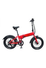 Biria Bikes Used 2018 Biria Electric folding 500w Red