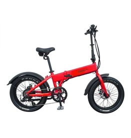 Biria Bikes Used 2018 Biria Electric folding 500w Red