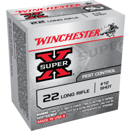 Winchester Winchester Super-X Rimfire  22 LR #12 Birdshot, 50 rnds