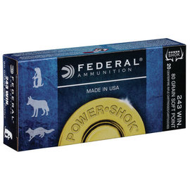 Federal Federal Power-Shok Ammo