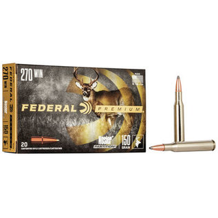 Federal Federal Premium - Nosler Partition