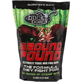 Buck Bomb Buck Bomb Ground Pound Deer Trail Mix 5lb