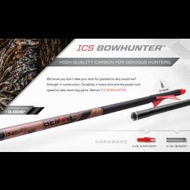 "Beman Beman Bowhunter Arrows, ""S"", 6 pk"