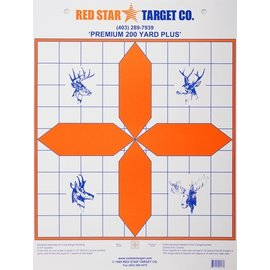 Red Star Red Star Premium 200 Yard Plus Target 10pk