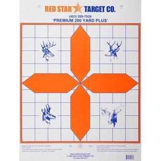 Red Star Red Star Premium 200 Yard Plus Target 10pk