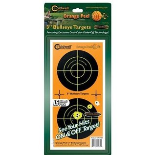 "Caldwell Caldwell Orange Peel Target 3"" Bullseye 15pk"