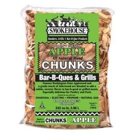 Smokehouse Smokehouse Wood Chunks 1.75 Lb Bag Apple